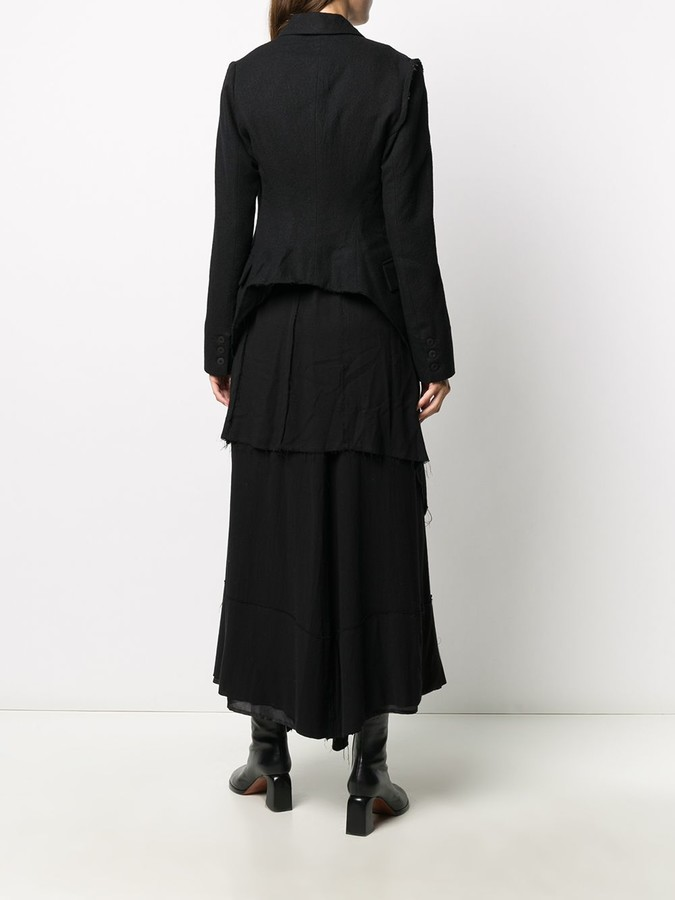 Thumbnail for your product : Marc Le Bihan Layered-Effect Maxi Coat