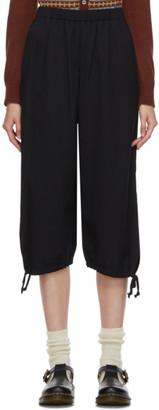 COMME DES GARÇONS GIRL Navy Ankle Tie Trousers