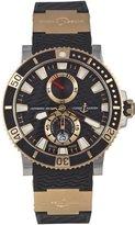 Ulysse Nardin Men's 265-90-3/92 Maxi Marine Diver Titanium Dial Watch