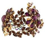 Erickson Beamon Beamon Crystal Cuff Bracelet