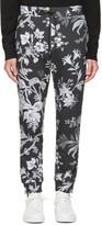 Mcq Alexander Mcqueen Grey Floral Lounge Pants