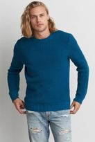 American Eagle Outfitters AE Waffle Crew Sweater