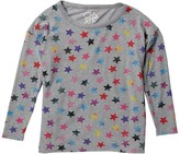 Chaser Rainbow Star Knit Pullover