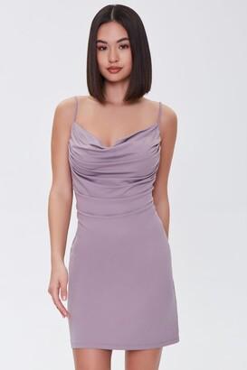 Forever 21 Cowl Neck Cami Mini Dress