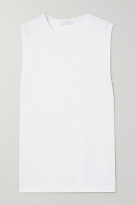 Ninety Percent Net Sustain Organic Cotton-jersey Tank - White