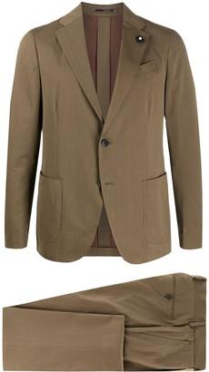 Lardini Pin Detail Two-Piece Suit