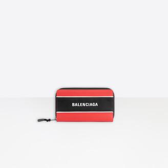 Balenciaga Sport Wallet With Strap