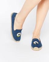 Soludos Jason Polan Donut Espadrille Flat Shoes