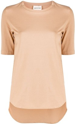 Semi-Couture Pansy logo print T-shirt
