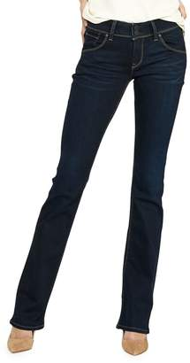 Hudson Beth Mid-Rise Boot-Cut Jeans