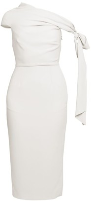 Roland Mouret Howe Stretch Viscose Off-The-Shoulder Dress