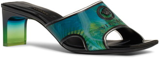 Versace Jungle Vynil Slide Sandal
