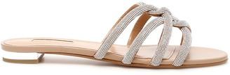 Aquazzura Moondust Flat Sandals
