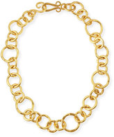 Stephanie Kantis 24k Gold-Plated Bronze Coronation Necklace, 18""