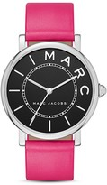 Marc Jacobs Roxy Leather Watch, 36mm