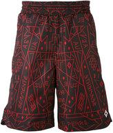 Marcelo Burlon County of Milan graphic print shorts - men - Polyamide/Polyester/Spandex/Elastane - S