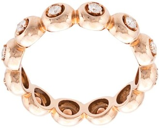 Dana Rebecca Designs 14kt Rose Gold Diamond Eternity Ring