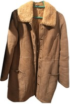 Loewe Beige Suede Coats