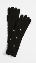 Kate Spade Imitation Pearl Gloves