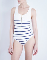 Heidi Klein Nantucket striped swimsuit