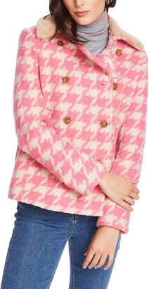 Court & Rowe Houndstooth Peacoat
