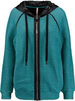 NO KA 'OI No Ka'Oi Nau knitted cotton-blend hooded jacket