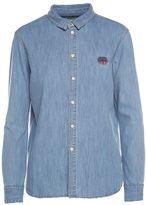 Kenzo Tiger Denim-cotton Shirt