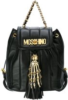 Moschino skeleton hand backpack