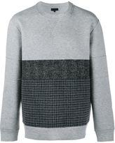 Lanvin contrast panel sweatshirt