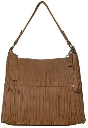 Frye AND CO. Phoebe Hobo (Tan) Hobo Handbags