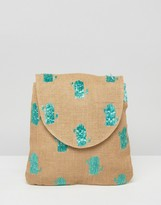 Asos BEACH Cactus Backpack