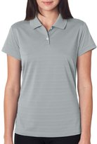 adidas Ladies' ClimaLite Textured Solid Polo - XL