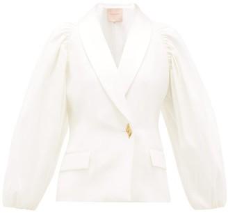 Roksanda Isobel Tailored Crepe Jacket - Ivory