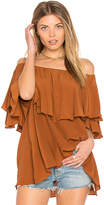 MLM Label Maison Top in Rust. - size S (also in XS)