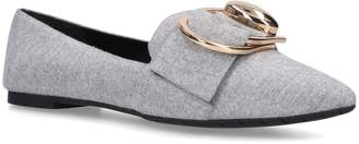 Stella Luna Double Ring Buckle Loafers
