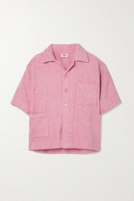 Terry. Boxy Cotton Shirt