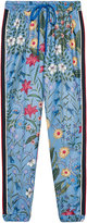 Gucci New Flora print jogging pant - women - Cotton/Polyester - M