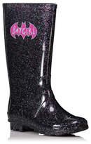 George DC Comics Sparkling Batgirl Wellington Boots