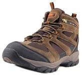 Khombu Terrachee Men Round Toe Leather Brown Hiking Boot.