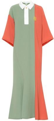 Loewe Colorblocked midi dress
