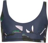 The Upside Behati Dark Lily-print sports bra