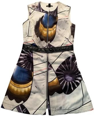 Louis Vuitton Ecru Cotton Dresses