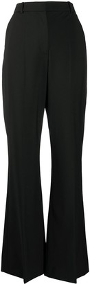 Joseph High-Waisted Flared Tailored Trousers