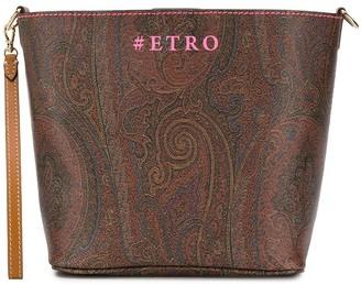 Etro Paisley Print Bucket Bag