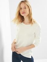 Gap Softspun knit cross-back top