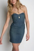 Urban Outfitters byCORPUS Strapless Denim Dress