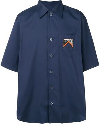 Prada oversized shirt