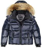 SAM. Boys' Fur-Trimmed Puffer Jacket - Big Kid