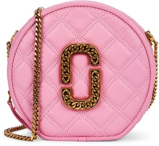 Marc Jacobs Christy Pink Leather Cross-body Bag