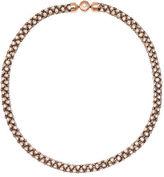 Michael Kors Park Avenue Mesh Crystal Necklace